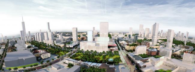 Концепция развития исторического центра Челябинска © АБ «Яузапроект»