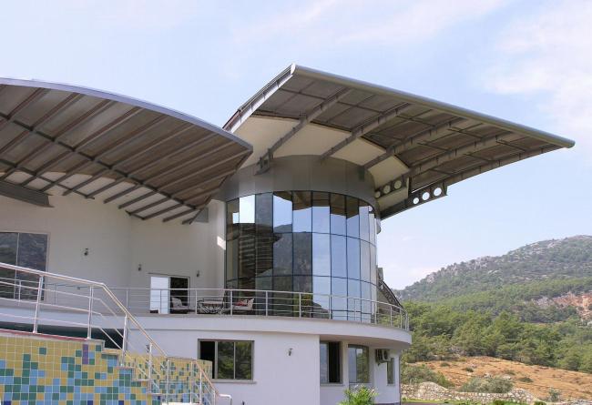 Вилла в Турции. Проект 2004-2005 гг. Строительство 2006-2007 гг.