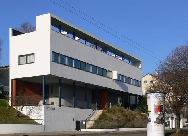 Дома 14 и 15 в поселке Вайсенхоф. Фото: Andreas Praefcke via Wikimedia Commons. Лицензия CC-BY-3.0