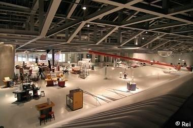 Научный центр «Фэно». Выставочный зал