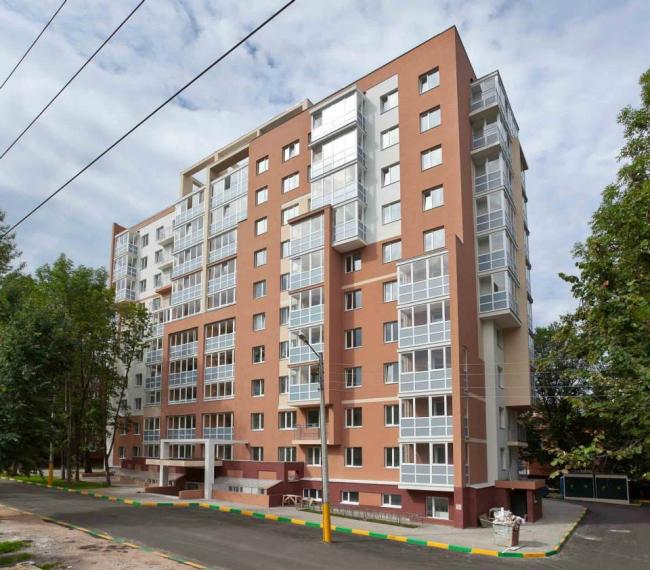 Жилой дом на ул. Моховая © Архитекторы: И.Гольцев, О.Баженова, Г.Качемцев