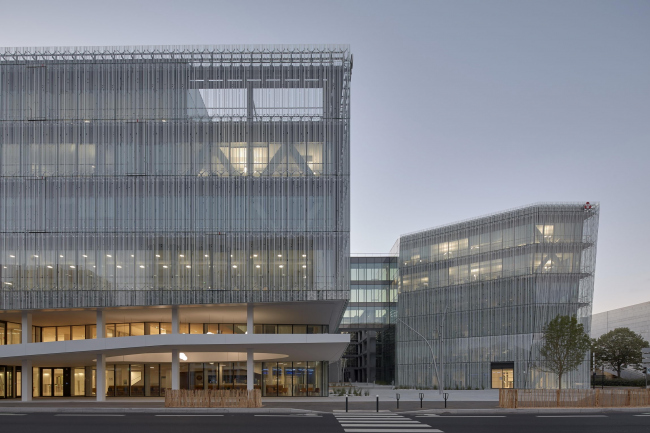 Штаб-квартира банка Crédit Mutuel de Loire-Atlantique Centre-Ouest © Guillaume Satre