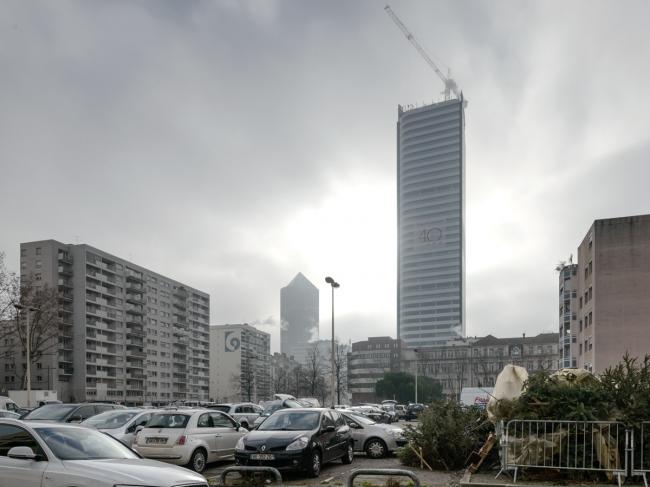 Башня Incity (архитекторы Valode et Pistre / AIA, 2012-2015) – самое высокое здание Лиона Фото © Василий Бабуров