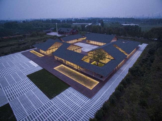 Органическая ферма в Таншане (Китай).  ARCHSTUDIO. Фото © JIN Wei-Qi