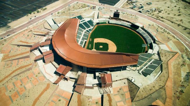 Стадион Sonora (Мексика).  3Arquitectura. Фото © Gobierno del Estado de Sonora