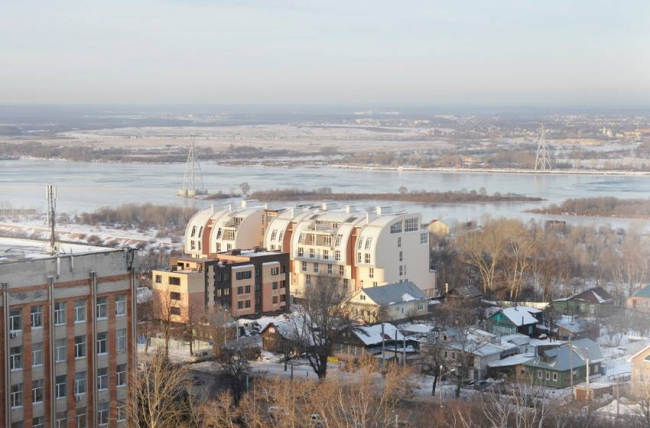 Жилой дом на улице Родионова © Проектное бюро «ДА»