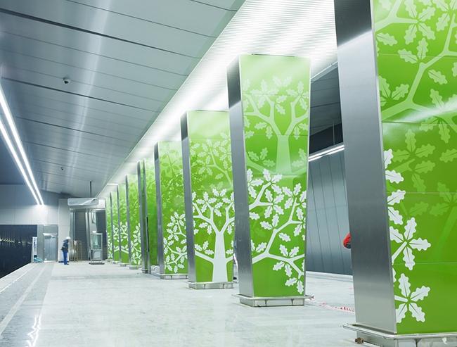 Платформа станции «Раменки». Проектировщик: «Метрогипротранс». Фотография предоставлена компанией «АСП-Технолоджи»