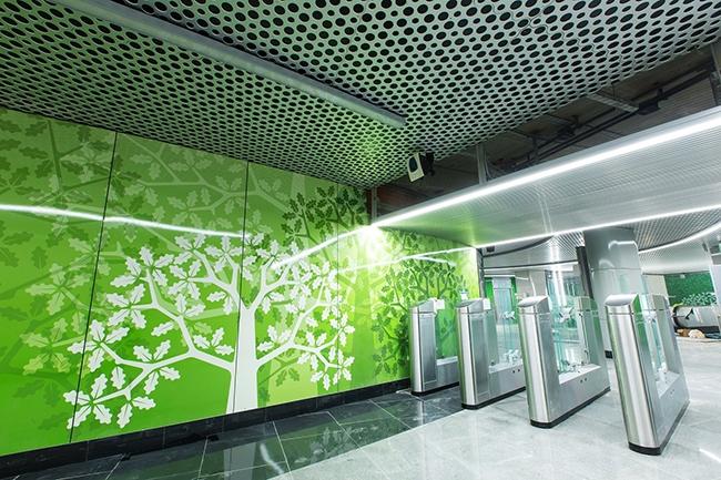 Станция «Раменки». Проектировщик: «Метрогипротранс». Фотография предоставлена компанией «АСП-Технолоджи»