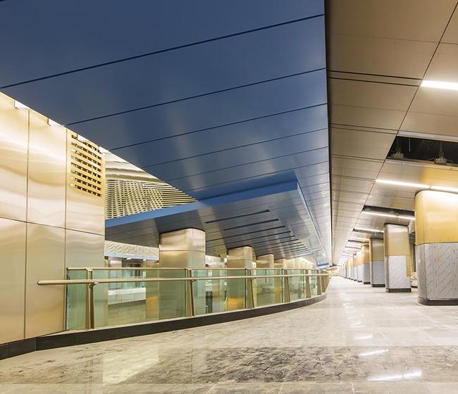 Транспортно-пересадочный узел «Деловой центр», Москва. Фотография предоставлена компанией «АСП-Технолоджи»