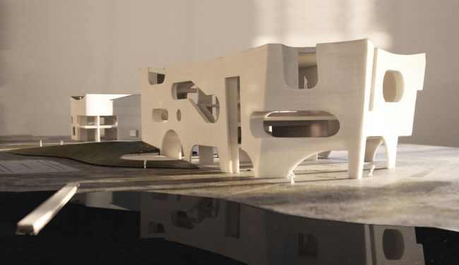 Центр культуры и здоровья компании COFCO © Steven Holl Architects