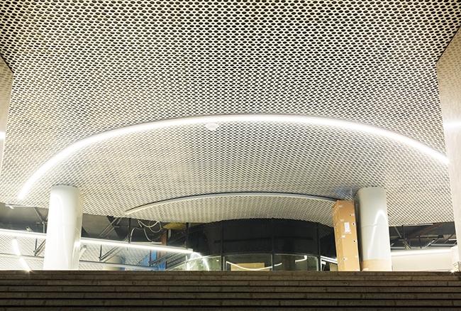 Станция метро «Ломоносовский проспект» Калининско-Солнцевской линии, Москва. Проектировщик: «Метрогипротранс». Фотография предоставлена компанией «АСП-Технолоджи»
