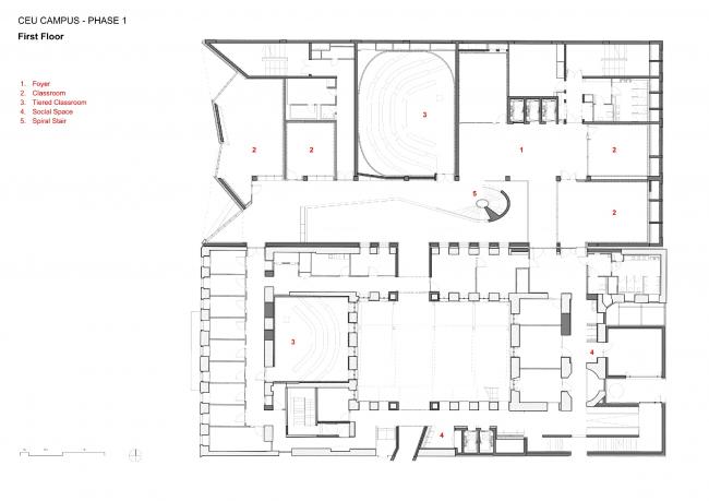 Кампус Центральноевропейского университета © O′Donnell + Tuomey