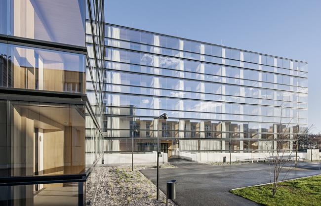 Комплекс жилья для престарелых Geriatriezentrum Donaustadt – реконструкция © Delugan Meissl Associated Architects