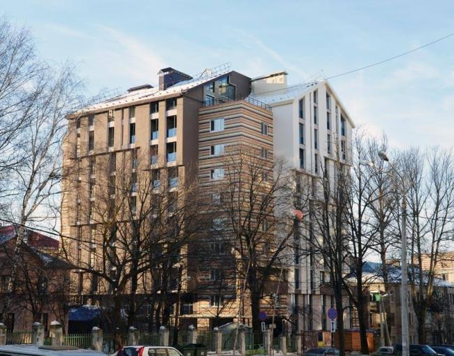 Жилой дом на ул. Красносельская, 9 © Проектное бюро «ДА»