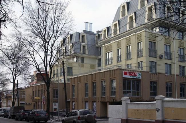 Жилой дом с офисами на ул. Семашко © АРТ проект
