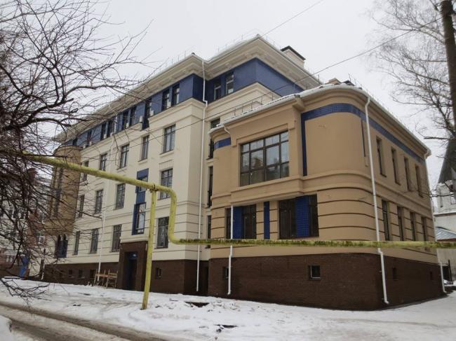 Жилой дом на ул. Нижегородская © Архитектурное бюро «5 и 5»
