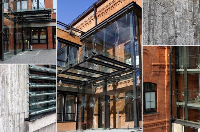 Реконструкция фабрики «Даниловская мануфактура» под деловой центр в стиле LOFT. Детали © Сити-Арх
