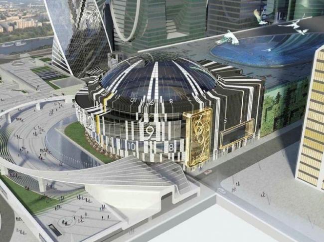 Многофункциональный концертный зал Москва-Сити © ЗАО «Горпроект». Предоставлено пресс-службой «Москомархитектуры»