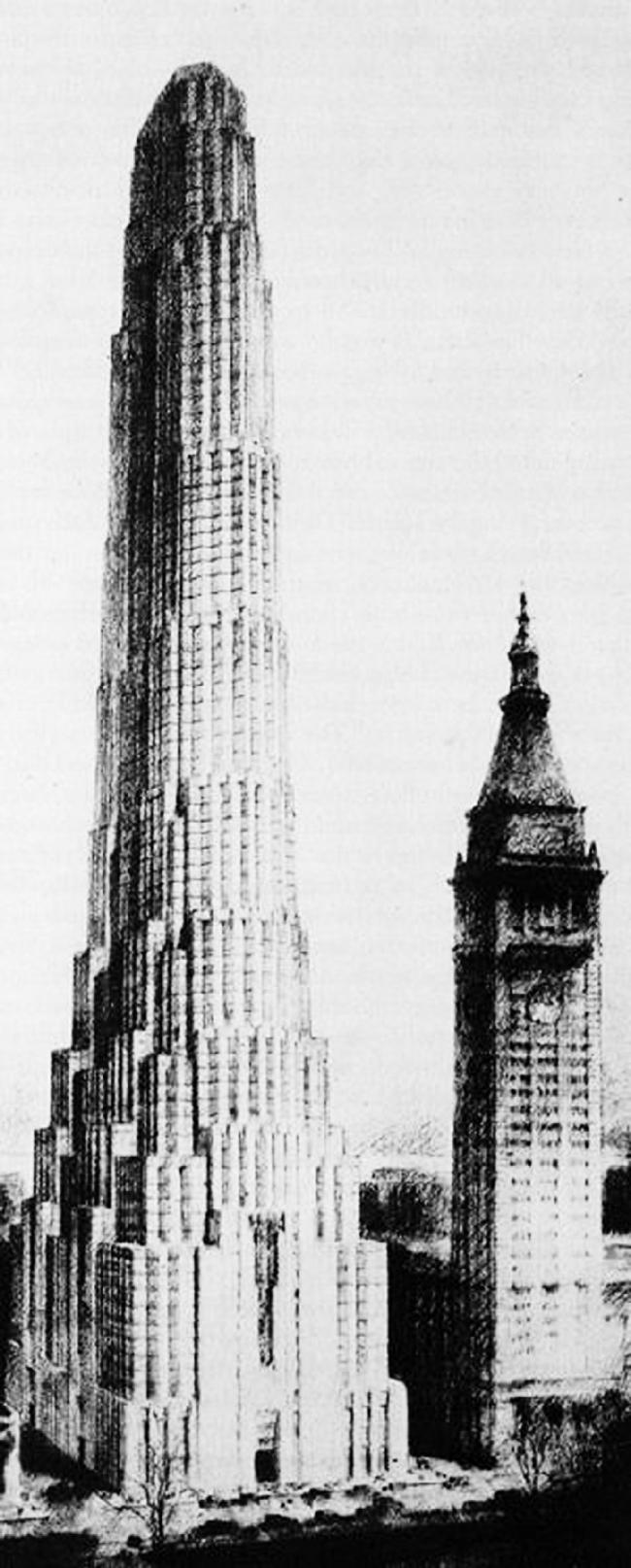 19. Проект Метрополитен Лайф Иншуренс Компани, Х. Корбетт, с 1928