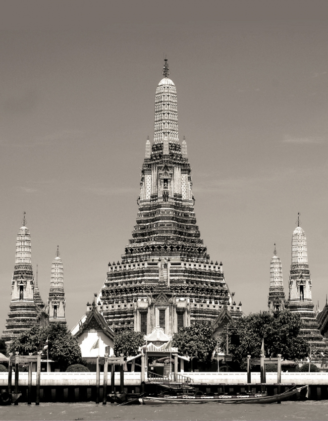 18. Буддийский храм Ват-Арун в Бангкоке, сер. XIX в.