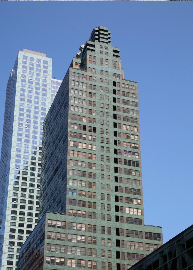 14. МакГро-Хилл билдинг в Нью-Йорке, Р. Худ, 1931. Фотография: Андрей Бархин