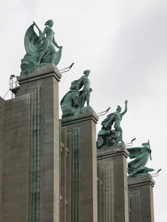 11. Главный павильон международной выставки в Брюсселе, 1931-35. Фотография: Андрей Бархин