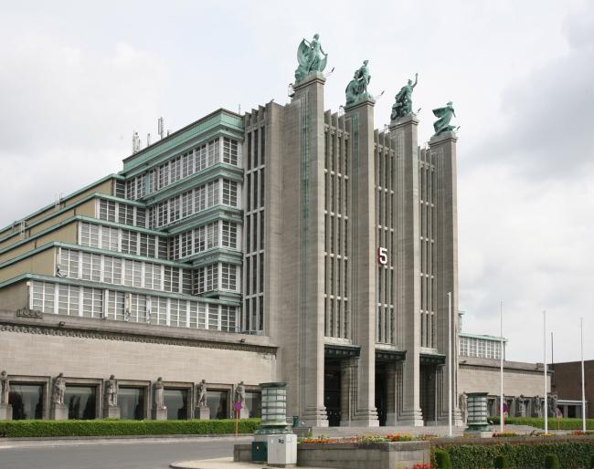 10. Главный павильон международной выставки в Брюсселе, 1931-35. Фотография: Андрей Бархин