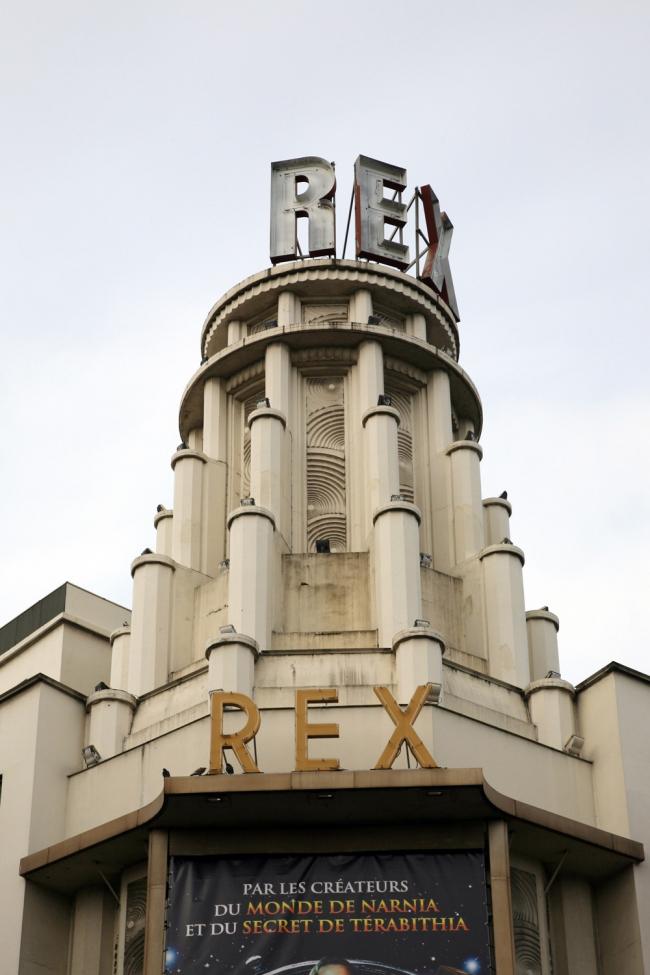 7. Башня кинотеатра Гран-Рекс в Париже, арх. О. Блуазон, 1932. Фотография: Андрей Бархин
