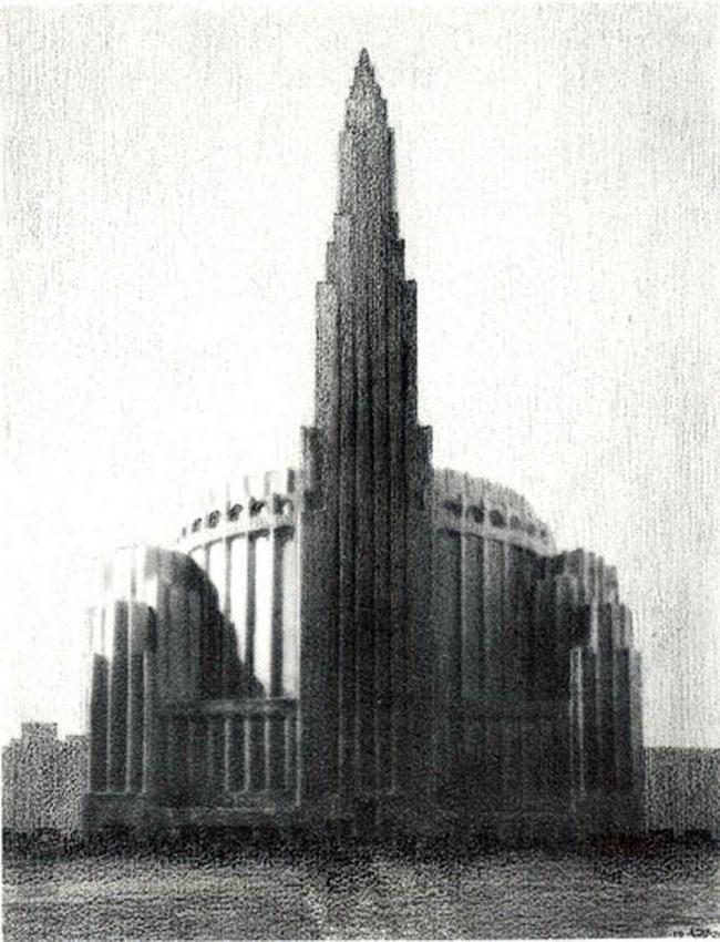 2. Проект Метрополитен опера в Нью-Йорке, Дж. Урбан, 1926