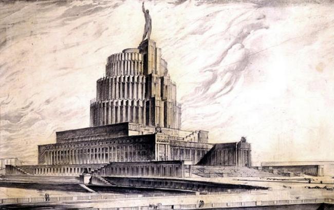 1. Проект Дворца Советов, Б.М.Иофан, 1933