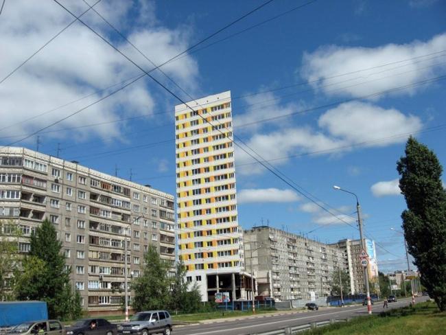 Жилой дом на ул. Пролетарская © Архитекторы: Юрий Болгова, Александр Гребенникова