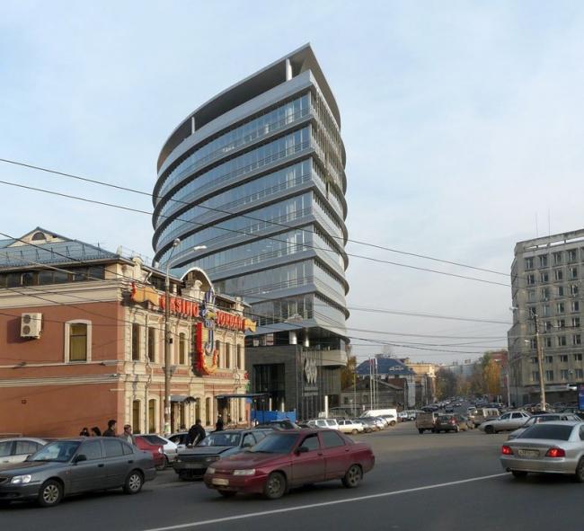 Международный центр торговли в Нижнем Новгороде © Архстрой