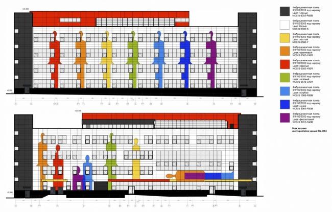 Школа в районе Некрасовка © ППФ «Проект-Реализация». Предоставлено пресс-службой «Москомархитектуры»