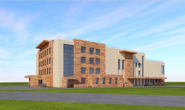 Новое здание гимназии №1518 © Проектировщик: Юнистрой. Предоставлено пресс-службой «Москомархитектуры»