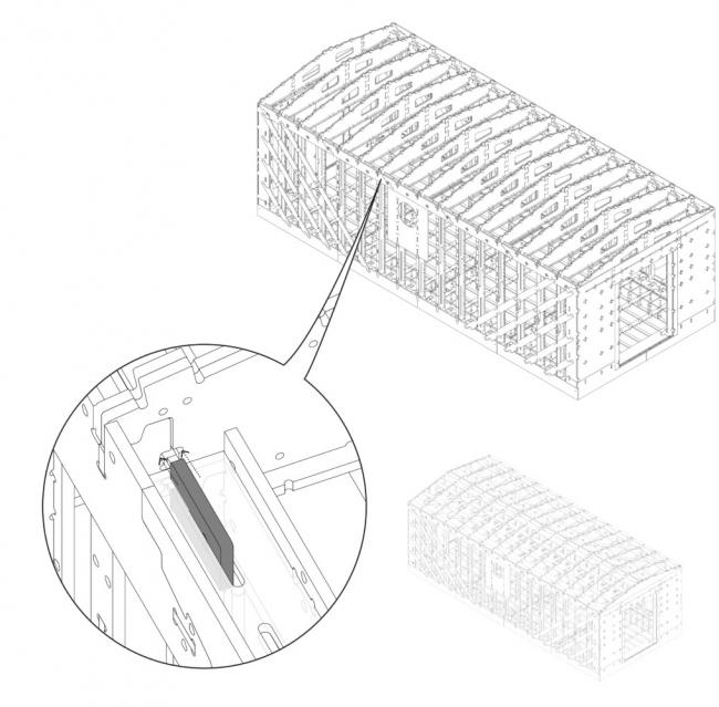 Образец постройки. Изображение: Clemson University School of Architecture
