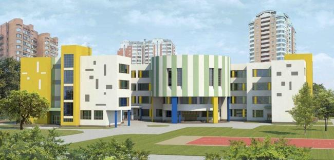 Школа в Бескудниково © ГУП «МНИИТЭП». Предоставлено пресс-службой «Москомархитектуры»