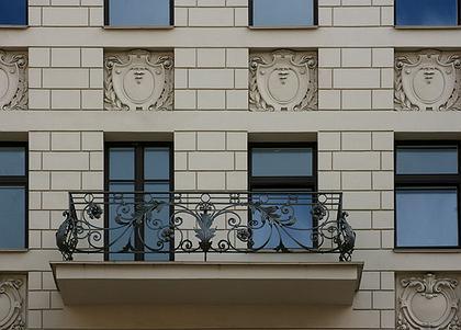Элитный жилой дом на 8-й линии Васильевского острова в Санкт-Петербурге