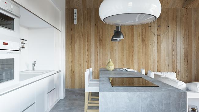 Русский стиль. Интерьер: кухня © Ilya Samsonov Architecture & Design