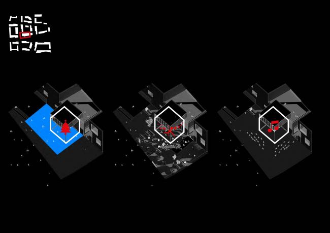 ЖК «ЛофтКвартал». Мультикубы: многофункциональность и всесезонность © UNK project