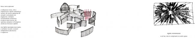 Проект студентки магистратуры (1 курс) Александры Полидовец «Лабиринт». Руководители: Тотан Кузембаев, Наталья Кузьмина, Сергей Шошин © МАРШ, 2017