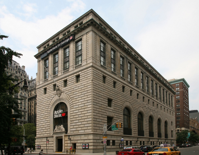 15. Сентрал Сейвингс банк в Нью-Йорке, Ф.Сойер, 1927