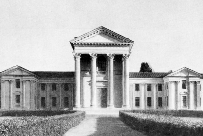 13. Дом Уполномоченного ВЦИК в Сочи, арх. И.В.Жолтовский, 1935