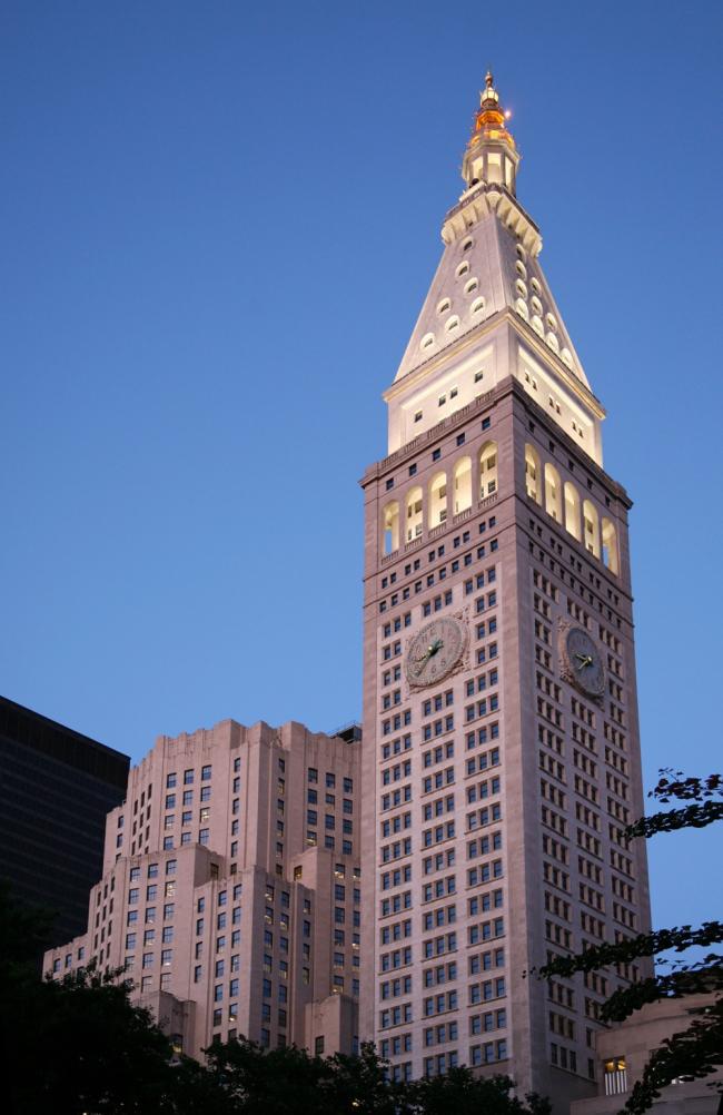 11. Метрополитен Лайф Иншуренс билдинг в Нью-Йорке, 1909
