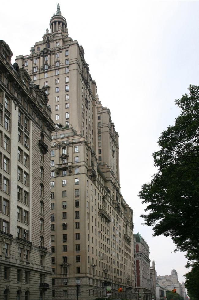 10. Жилой дом Сан Ремо в Нью-Йорке, арх. Э.Рот, 1929
