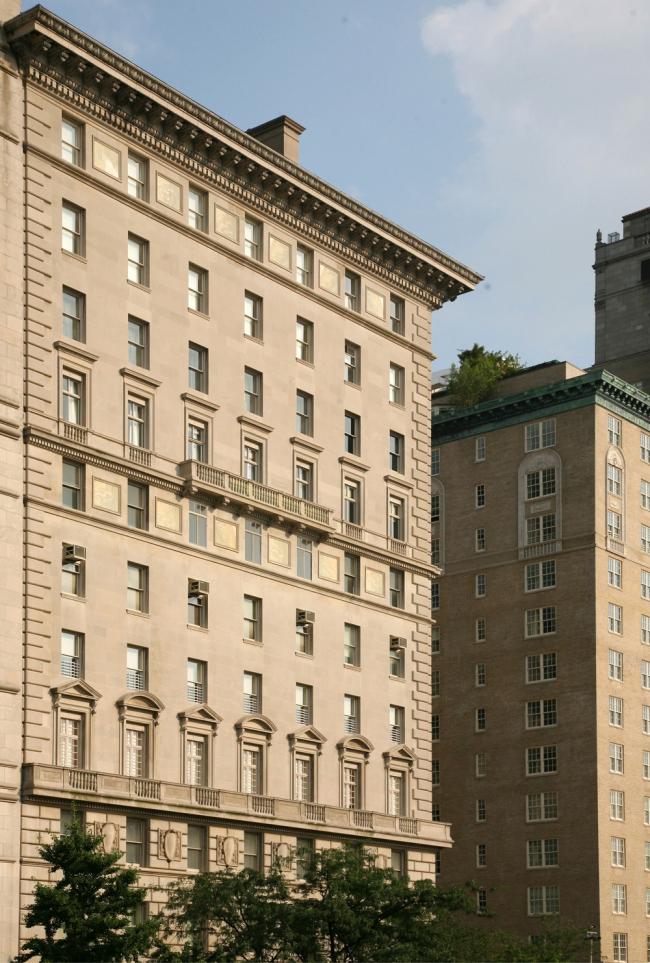 6. Дом 998 на Пятой авеню в Нью-Йорке, арх. фирма Мак-Ким, Мид энд Уайт, 1912