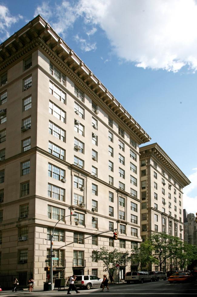 5. Жилой дом Студио билдинг в Нью-Йорке, арх. Ч.Платт, 1906