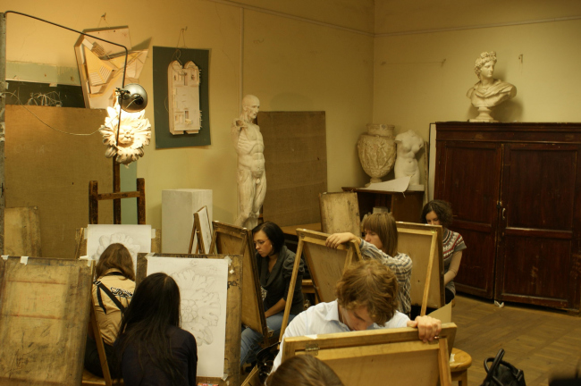 Кафедра рисунка в МАРХИ