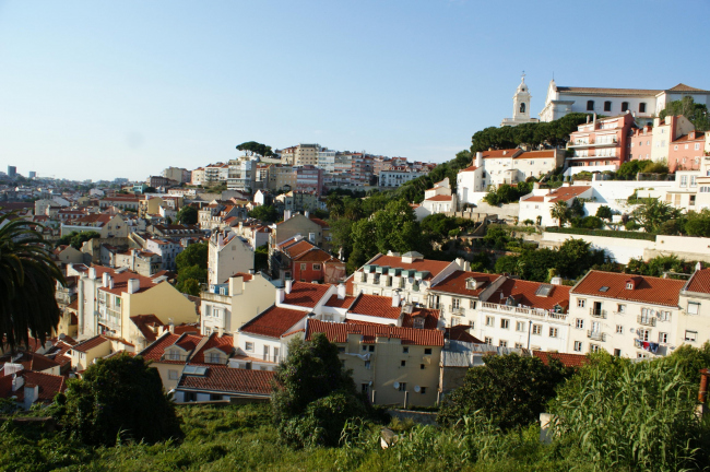 Вид Лиссабона
