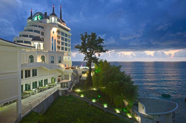 Castello Mare Hotel & Wellness Resort, постройка, 2016 © Лев Нодельман