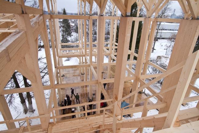 GOOD WOOD Plaza. Фото предоставлено Ассоциацией деревянного домостроения